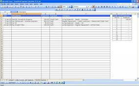 Monthly Budget Worksheet Excel 49 Download Free Bud Forms Manqal