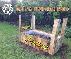 How To Make A Raised Bed Garden Box From Wood Pallets 5 Steps