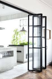 glass bifold internal doors glass folding doors interior internal bi fold glass doors