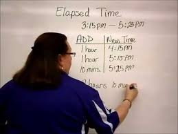 T Chart For Teaching Elapsed Time Copy Of Elapsed Time Lessons Tes Teach