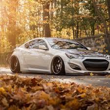 2015 hyundai genesis coupe custom. Perfect Genesis White Hyundai Genesis Coupe With Liberty Walk Body Kit  Photo By Avant  Garde Wheels On 2015 Custom U