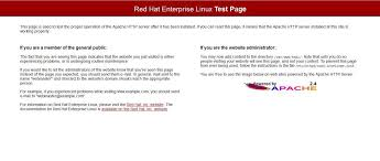 apache test page - FoxuTech