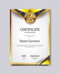 Certificates Of Appreciation Certificate Of Appreciation