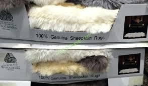 brilliant faux sheepskin rug costco decorative