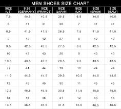 Ck Shoes Size Chart Buurtsite Net