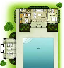 backyard floor plans unique small houses elegant guest house
