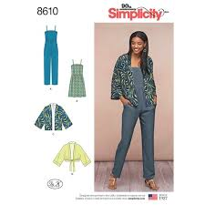 Simplicity Jumpsuit Pattern Mesmerizing Simplicity Pattern 48 Misses' Kimono Jumpsuit And Dress