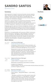 Commercial Manager Resume Samples Visualcv Resume Samples Database