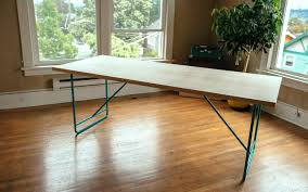 make your own dining table seesaws and sawhorses building dining room table top unique l your