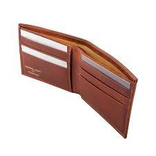 classic men s leather billfold wallet the vittore