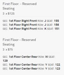 The Anthem Seating Chart Anthem Seating Chart For Seated Floor Events