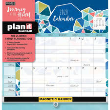 17 Month Calendar Calendars Journey Of The Heart Plan It Plus Wall Calendar With 442 Event Reminder Stickers 17 Month