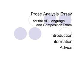 the prose passage essay ppt video online prose analysis essay for the ap language and composition exam