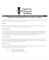 Public Speaking Speech Outline Demonstration Sample For Of Tribute ...