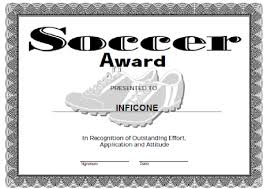 Free Soccer Certificate Templates Free Printable Award Certificate Template Certificate