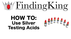 Silver Acid Test Color Chart How To Test Silver Using Silver Acid