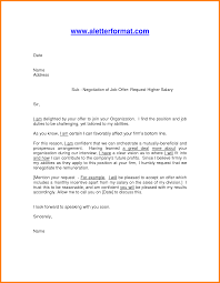 job requesting letter format ledger paper job offer salary negotiation letter format by aniltheblogger
