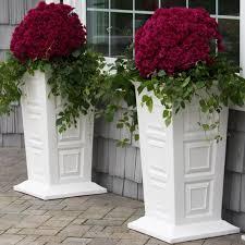 Decorative Planter Boxes Terrarium Design Outstanding Tall Decorative Planters Decorative 65