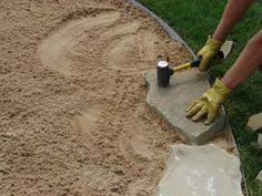 stone patio installation: video and instructions to install a flagstone patio this is what i want to do