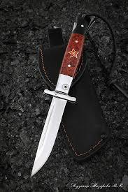 <b>Нож</b> Финка НКВД <b>складная</b> сталь х12мф накладки акрил красный ...