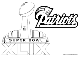 Small Picture Super Bowl Coloring Pages 19833