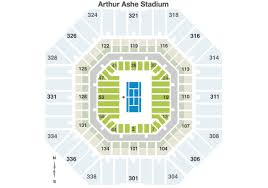Us Open Seating Chart Us Open Premium Courtside Tickets Seating Chart On Make