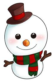Print the large snowman template for crafts and print the smaller template with the colored images as an example for colors. Snowman Clip Art Clipart Pictures Image Christmas Art Christmas Clipart Christmas Drawing