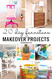 diy furniture makeover. get out your paint and have some fun with these 20 diy furniture makeover projects diy b