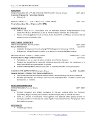 Engineering Graduate Resume Sample. Engineering Student Resume ...