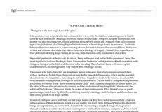 antigone tragic hero essay conclusion economics research antigone tragic hero essay conclusion