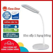 Đèn bàn Led cảm ứng 3 màu ánh sáng chống cận thị RĐ RL-22 LED RẠNG ĐÔNG - Đèn  bàn Nhãn hàng Rạng Đông