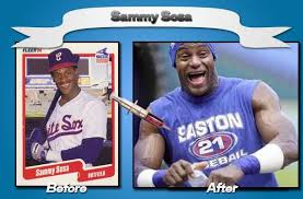 my english blog sammy sosa famous baseball player caught for using steroids