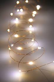 wire fairy lights 10 ft outdoor battery operated warm white with timer copper wire light string