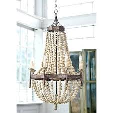 wooden bead chandelier wood beaded chandelier pottery barn bella wood bead chandelier for