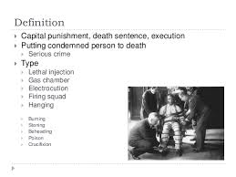 papers on pro death penalty pro death penalty research papers  the death penalty deters crime and saves lives
