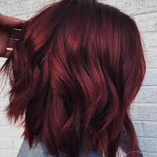 Mulled Wine Hair Color Is Perfect For Winter Glamour