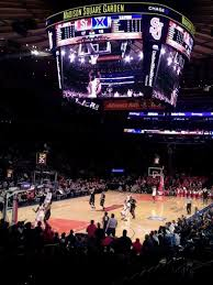 Msg Knicks Virtual Seating Chart Madison Square Garden Section 104 Home Of New York Rangers