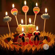 Świeczki na tort chmurki i balony 5 szt | sklep internetowy elhandel.pl