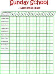 sundayschool printables attendance03 jpg
