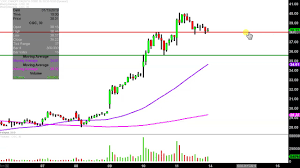 Canopy Growth Corporation Cgc Stock Chart Technical Analysis For 01 11 2019