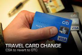 af csa travel card transitions to gtc