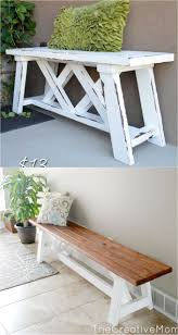 Diy Bench Best 25 Diy Bench Ideas On Pinterest Benches Diy Wood Bench