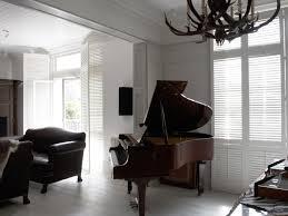 New England Living Room Bespoke Living Room Shutter Gallery Tnesc London
