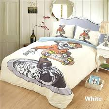 duvet covers kids skull 2 bed quilt cover clothes pillowcase bedroom decor boy bedding set