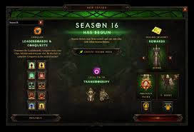 season al season 16 the season of grandeur is now live diablo iii