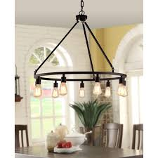 shea bronze edison bulb 9 light chandelier free today intended for incredible house 9 bulb chandelier designs