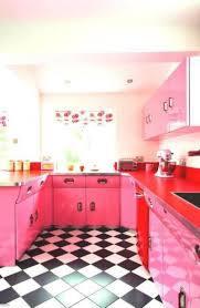 Pink Kitchen 27 Retro Kitchen Designs That Are Back To The Future Page 5 Of 5