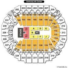 Centurylink Center Omaha Ne Seating Chart Best Picture Of