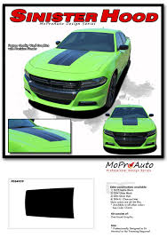 Details About Sinister Hood Center 3m Vinyl Graphic Decal Dodge Charger 2019 2018 2017 2016