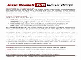 Interior Designer Resume Sample Interior Design Resumes Interior Designer Resume Format Unique 53